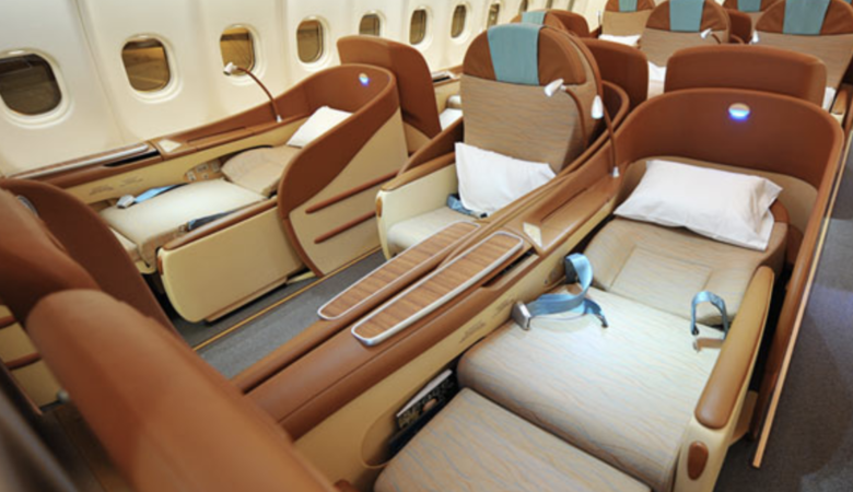 Oman Air business class