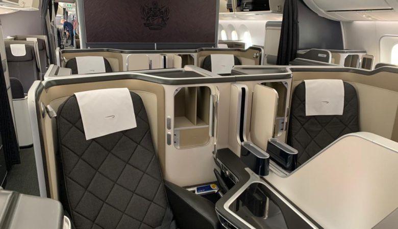BA 787 First Cabin