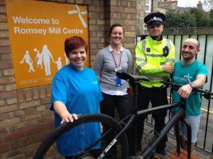 Romsey Mill bike project