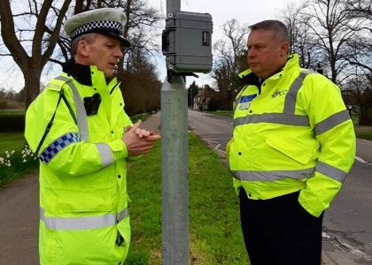 Police Commissioner funds 'black boxes' to support new Community Speedwatch Schemes