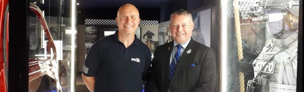 Police Commissioner commends Museum of Armed Policing as a 'gem' of the Fens