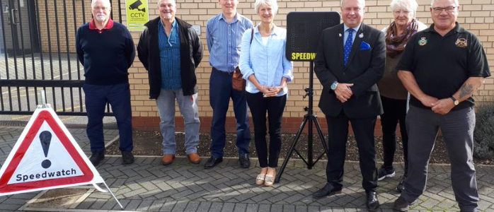 County's Speedwatch scheme marks 2000th volunteer