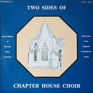Two sides of Chapter House Choir cover