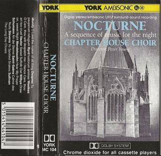 Nocturne cassette cover