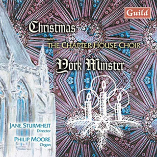 Christmas with the Chapter House Choir CD cover