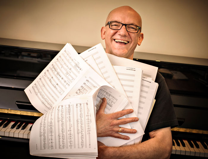 Image of Bob Chilcott with music