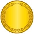 Gold medal logo