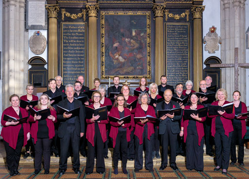 The Chapter House Choir in St Michael-le-Belfrey Church, June 2018