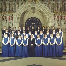 The choir with Andrew Padmore 1988-1990