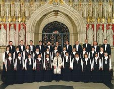 The choir in 1998 with Jane Sturmheit