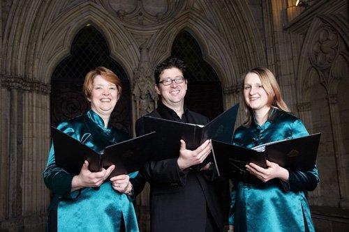 Denise Redding, Mark and Clare Latham