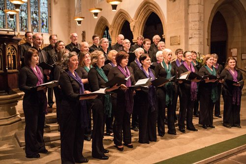 Chapter House Choir in St Olave's Church