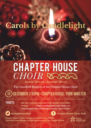 Carols by Candlelight December 2018 Poster