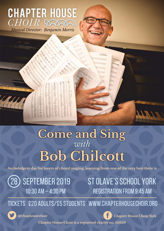 Come and Sing Poster September 2019