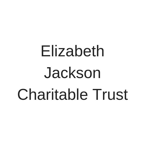 Elizabeth Jackson Charitable Trust