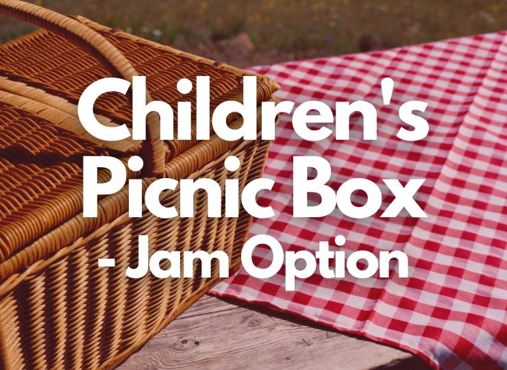 Tea Set Children's Picnic Box - Jam option