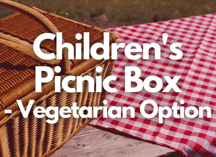 Tea Set Children's Picnic Box - vegetarian option