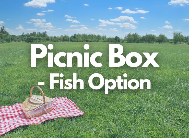 Tea Set Adult Picnic Box - Fish Option