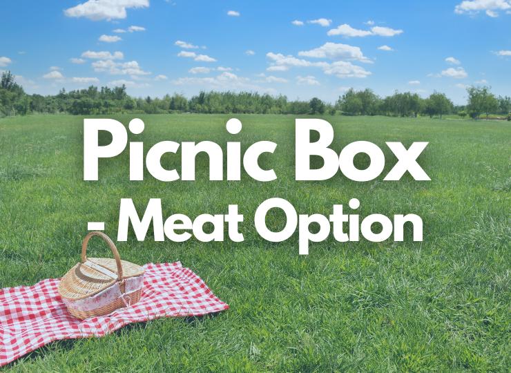 Tea Set Adult Picnic Box - Meat Option