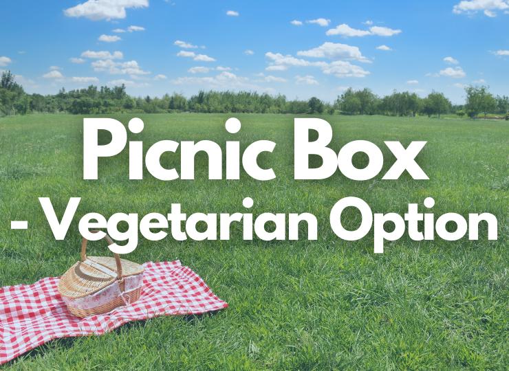 Tea Set Adult Picnic Box - Vegetarian Option
