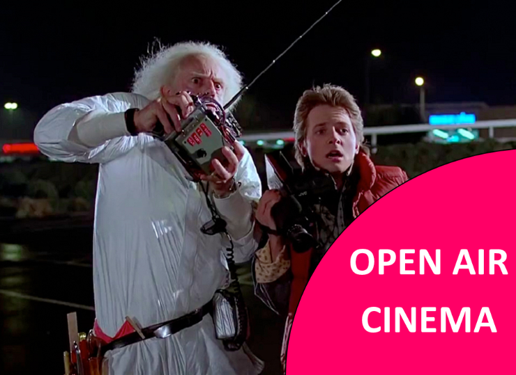 BACK TO THE FUTURE OPEN AIR CINEMA @ Heath Farm