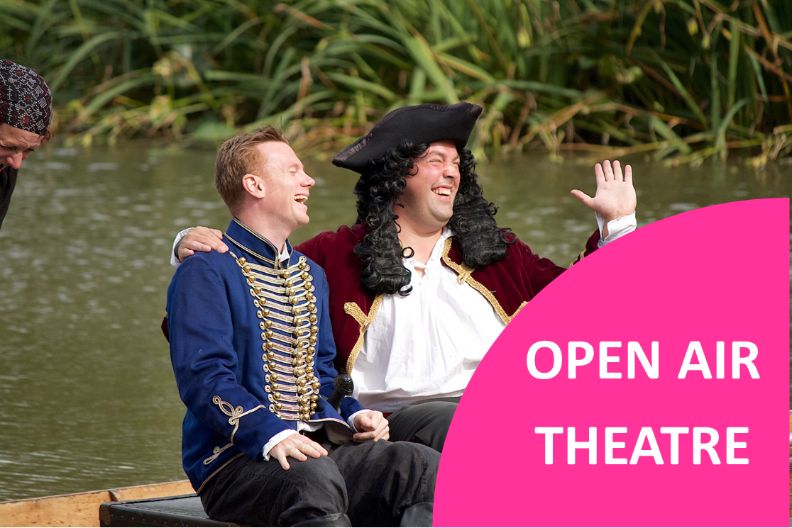THE PIRATES OF PENZANCE OPEN AIR THEATRE @ Heath Farm