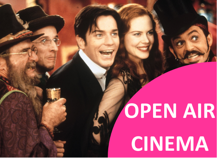 MOULIN ROUGE OPEN AIR CINEMA @ Heath Farm