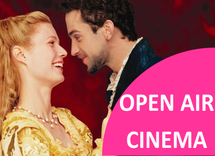 SHAKESPEARE IN LOVE OPEN AIR CINEMA @ Broughton Castle