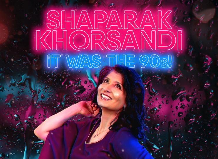SHAPARAK KHORSANDI; It Was The 90s!