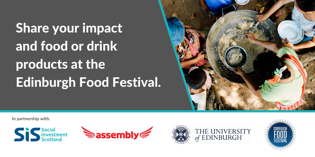 Social Enterprise Opportunities at the Edinburgh Food Festival