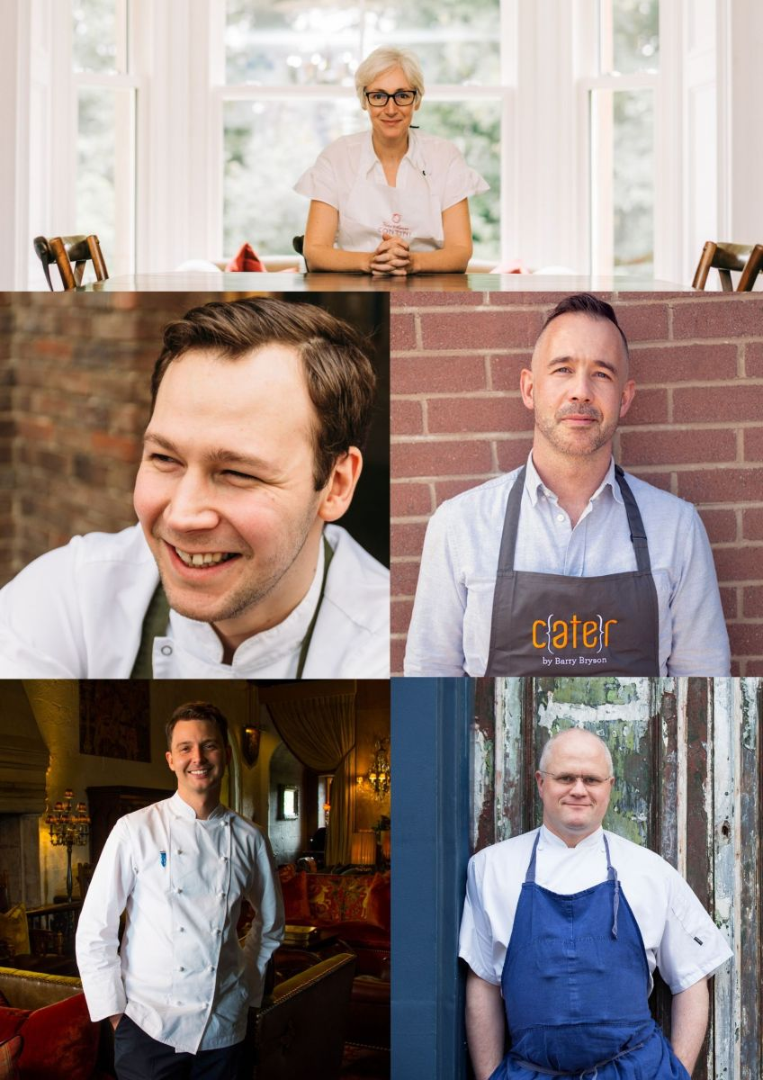 Top five chefs to cook up a storm at Edinburgh Food Festival