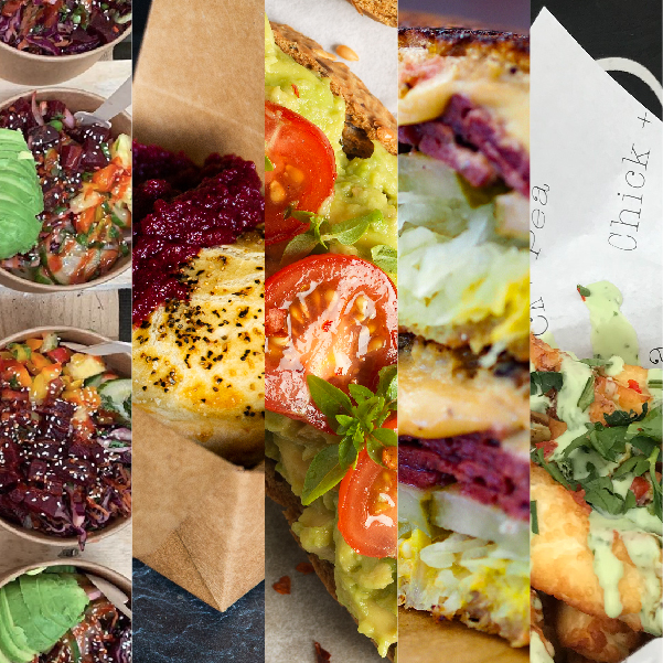 Top 5 Vegan and Veggie Street Food spots to hit at this year's Edinburgh Food Festival: