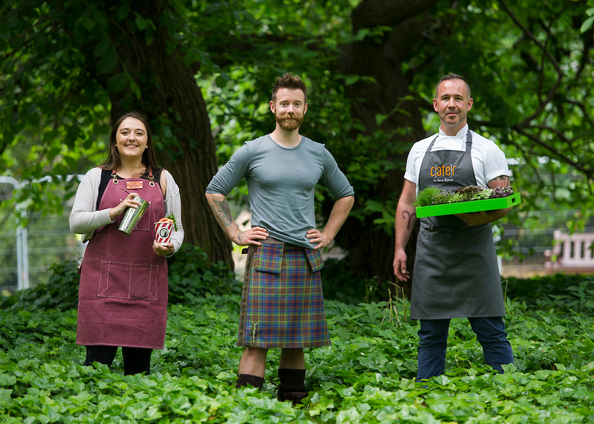 Kilted Yoga star to add fresh flavour to Edinburgh Food Festival