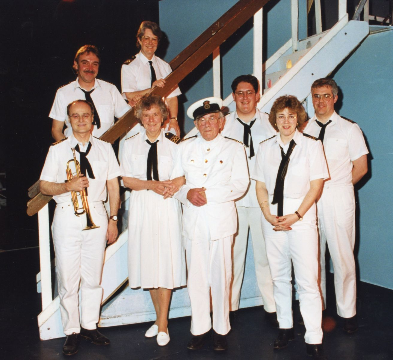 The Truro Amateur Operatic & Dramatic Society band