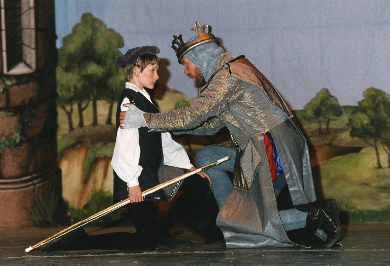 A scene from Camelot, 1993 (2)