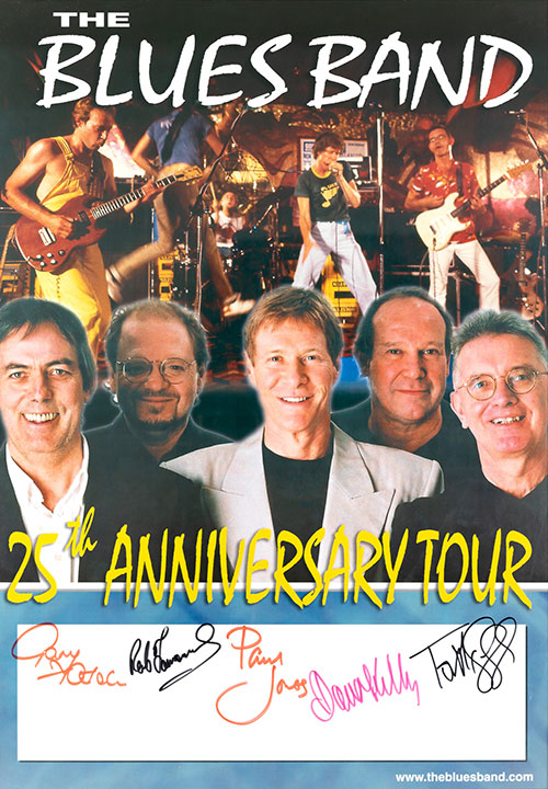 Blues Band 25th Anniversary Tour