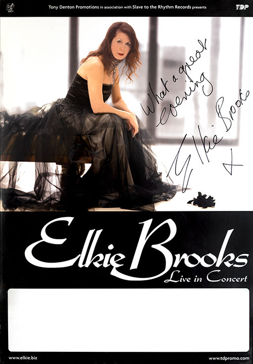 Elkie Brooks, Live In Concert