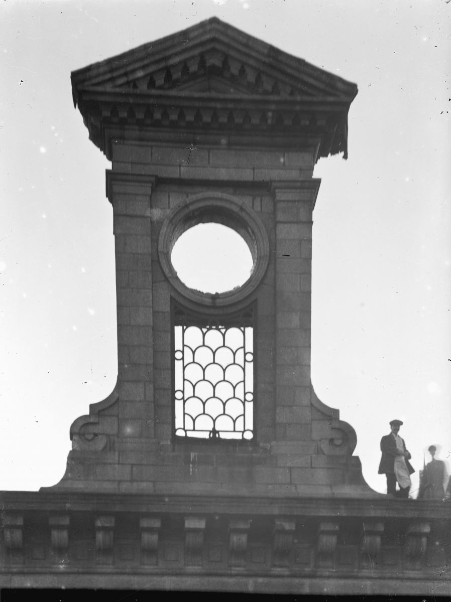 Clock Tower, atop City Hall, 1914