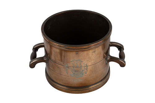 Set of Gallon Measures with Truro Coat of Arms