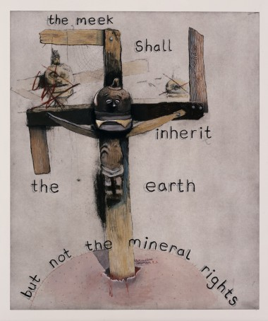 The meek shall inherit the earth but NOT the mineral rights