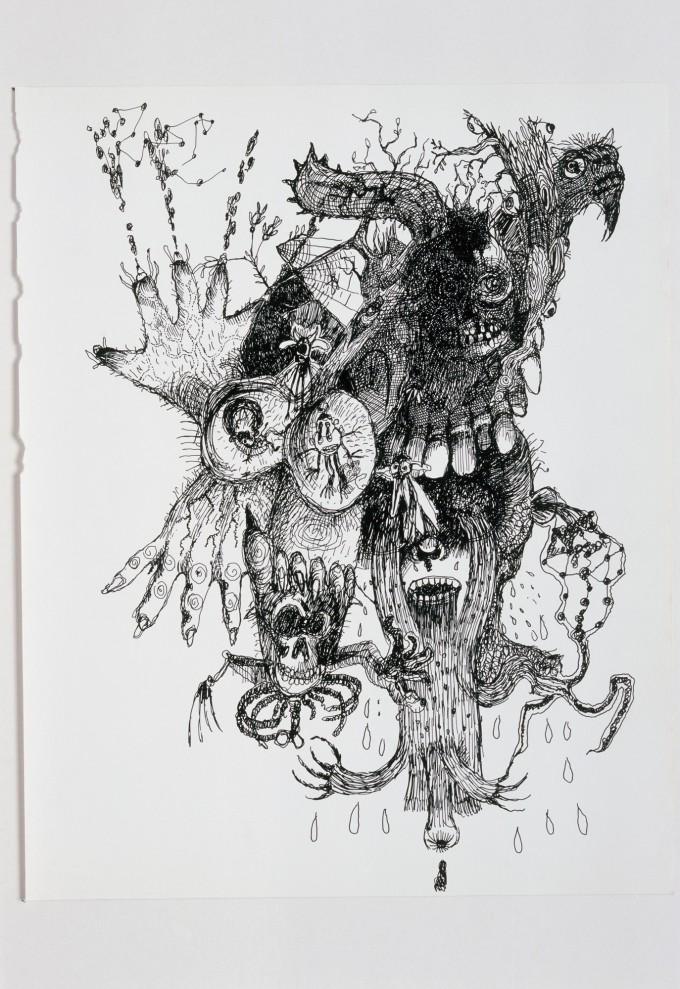 Television Drawing 8