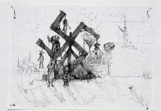 Television Drawing 11