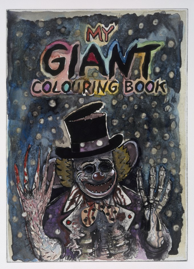 My Giant Colouring Book III (no.1)