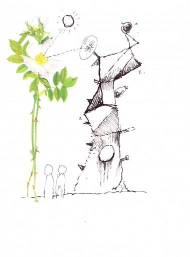 Yuri and Konstantin Shamanov Drawings – Set of 8 (7)