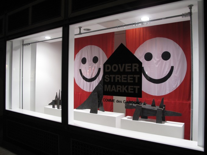 Dover Street window