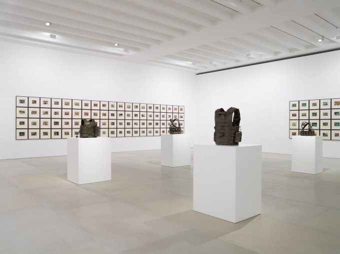 Jake and Dinos Chapman, The Disasters of Everyday Life, 2017, Installation view, Courtesy the artists and BlainSouthern, Photo Peter Mallet (11)