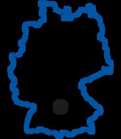 Hofbrau origin map