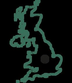 Tynt meadow origin map