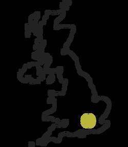Burning sky origin map