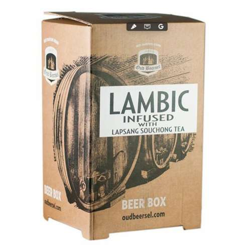 Lambic Infused withl Lapsang BlackTea